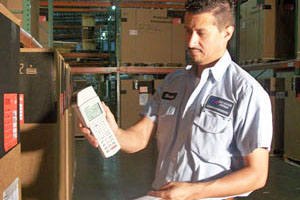 Warehouse inventroy control - best scanning technology