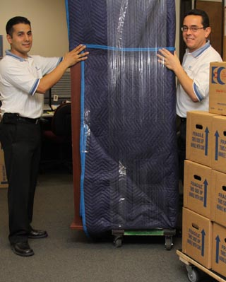 EDC movers relocating an office